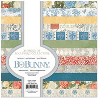 BoBunny - Boulevard Collection - 6 x 6 Paper Pad