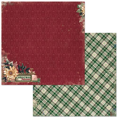 Bo Bunny - Christmas Treasures - 12 x 12 Double Sided Paper - Christmas Treasures