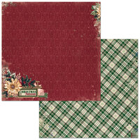 Bo Bunny - Christmas Treasures - 12 x 12 Double Sided Paper - Christmas Treasures