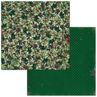 Bo Bunny - Christmas Treasures - 12 x 12 Double Sided Paper - Holly
