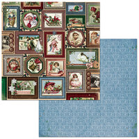 Bo Bunny - Christmas Treasures - 12 x 12 Double Sided Paper - Joyful