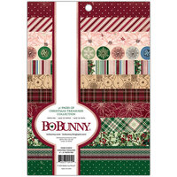 Bo Bunny - Christmas Treasures - 6 x 8 Paper Pad with Foil Accents