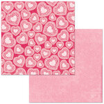 Bo Bunny - Count The Ways Collection - 12 x 12 Double Sided Paper - Valentine