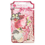 Bo Bunny - Count The Ways Collection - Noteworthy Journaling Cards