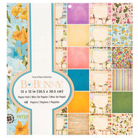 BoBunny - Time And Place Collection - 12 x 12 Paper Pad