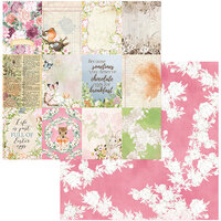 BoBunny - Garden Grove Collection - 12 x 12 Double Sided Paper - Adorable