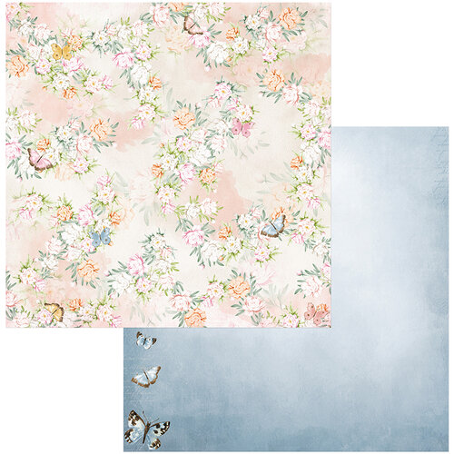BoBunny - Garden Grove Collection - 12 x 12 Double Sided Paper - Flutter