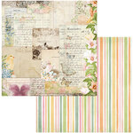 BoBunny - Garden Grove Collection - 12 x 12 Double Sided Paper - Postcards