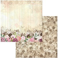 BoBunny - Garden Grove Collection - 12 x 12 Double Sided Paper - Tranquility