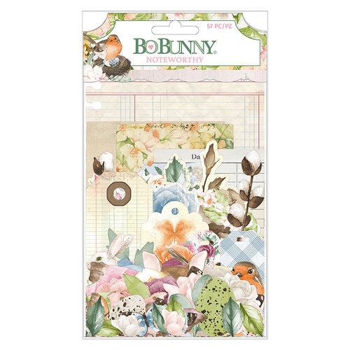 BoBunny - Garden Grove Collection - Noteworthy Journaling Cards