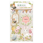 BoBunny - Garden Grove Collection - Layered Chipboard Stickers