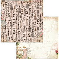 BoBunny - Family Heirlooms Collection - 12 x 12 Double Sided Paper - Keepsakes