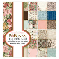BoBunny - Family Heirlooms Collection - 12 x 12 Paper Pad