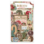 BoBunny - Family Heirlooms Collection - Noteworthy Journaling Cards