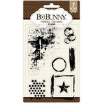 BoBunny - Clear Acrylic Stamps - Terrific Textures