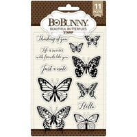 BoBunny - Clear Acrylic Stamps - Beautiful Butterfly