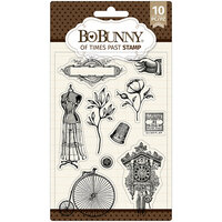 BoBunny - Clear Acrylic Stamps - Of Times Past