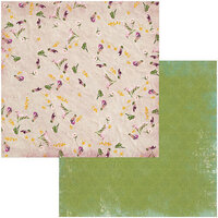 BoBunny - Botanical Journal Collection - 12 x 12 Double Sided Paper - Card Maker