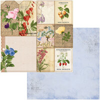 BoBunny - Botanical Journal Collection - 12 x 12 Double Sided Paper - Packets