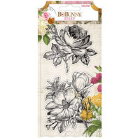 BoBunny - Botanical Journal Collection - Clear Acrylic Stamps