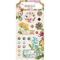 BoBunny - Botanical Journal Collection - Brads