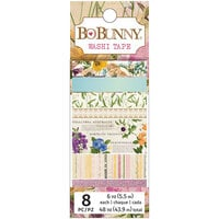 BoBunny - Botanical Journal Collection - Washi Tape with Glitter Accents