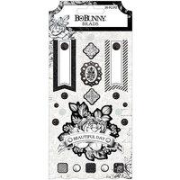 BoBunny - Tuxedos and Tiaras Collection - Brads