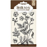 BoBunny - Clear Acrylic Stamps - Wildflowers
