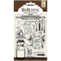 BoBunny - Clear Acrylic Stamps - From The Kitchen