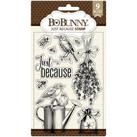 BoBunny - Clear Acrylic Stamps - Just Because