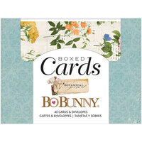 BoBunny - Botanical Journal Collection - Boxed Cards