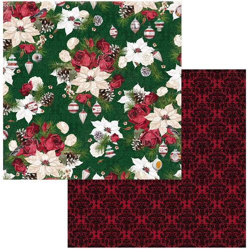 BoBunny - Joyful Christmas Collection - 12 x 12 Double Sided Paper - Joyful Christmas