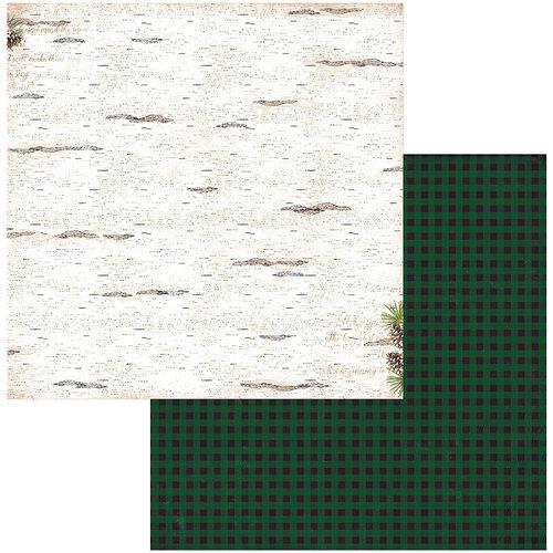 BoBunny - Joyful Christmas Collection - 12 x 12 Double Sided Paper - Birch