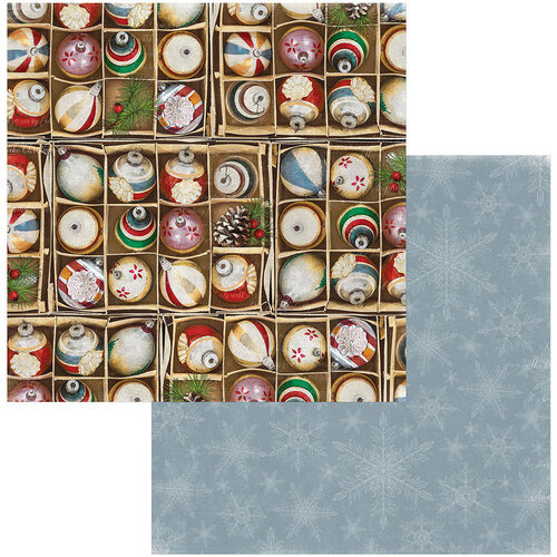 BoBunny - Joyful Christmas Collection - 12 x 12 Double Sided Paper - Decorations