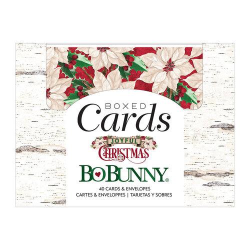 BoBunny - Joyful Christmas Collection - Boxed Cards