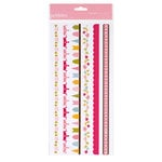 American Crafts - Pebbles - Ever After Collection - Cardstock Stickers - Borders