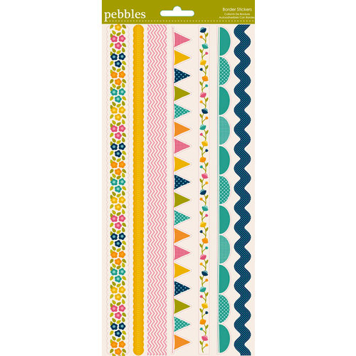 American Crafts - Pebbles - Sunnyside Collection - Stickers - Border