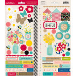 American Crafts - Pebbles - Walnut Grove Collection - Cardstock Stickers - Accent and Phrase