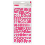 American Crafts - Pebbles - Basics Collection - Thickers - Foam Stickers - Begonia