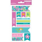 American Crafts - Pebbles - Party with Amy Locurto - Cardstock Stickers - Labels - Mermaid