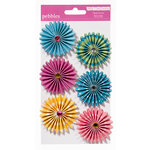 American Crafts - Pebbles - Party with Amy Locurto - Paper Flowers - Mermaid