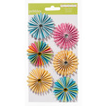 American Crafts - Pebbles - Party with Amy Locurto - Paper Flowers - Pool
