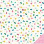 Pebbles - Birthday Wishes Collection - 12 x 12 Double Sided Paper - Confetti