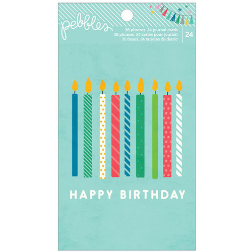 Pebbles - Birthday Wishes Collection - Quote and Journaling Book