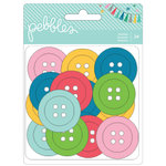 Pebbles - Birthday Wishes Collection - Buttons