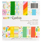 Pebbles - Happy Hooray Collection - 6 x 6 Paper Pad