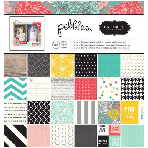 Pebbles - Homemade Collection - 12 x 12 Paper Pad
