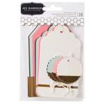 Pebbles - Cottage Living Collection - Gold Dipped Tags