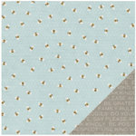 Pebbles - Homegrown Collection - 12 x 12 Double Sided Paper - Busy Bees