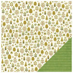 Pebbles - Homegrown Collection - 12 x 12 Double Sided Paper - Nature Walk